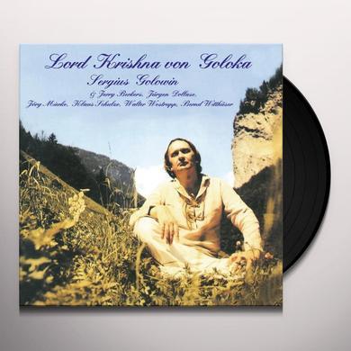Sergius Golowin LORD KRISHNA VON GOLOKA Vinyl Record