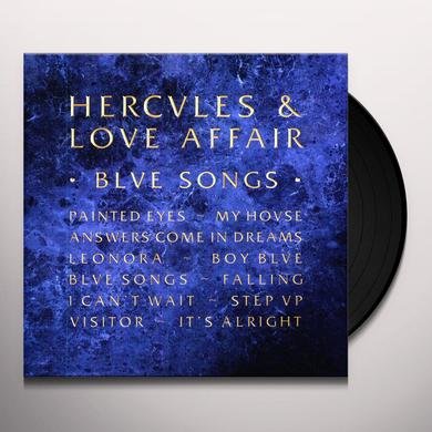 Hercules & Love Affair BLUE SONGS Vinyl Record