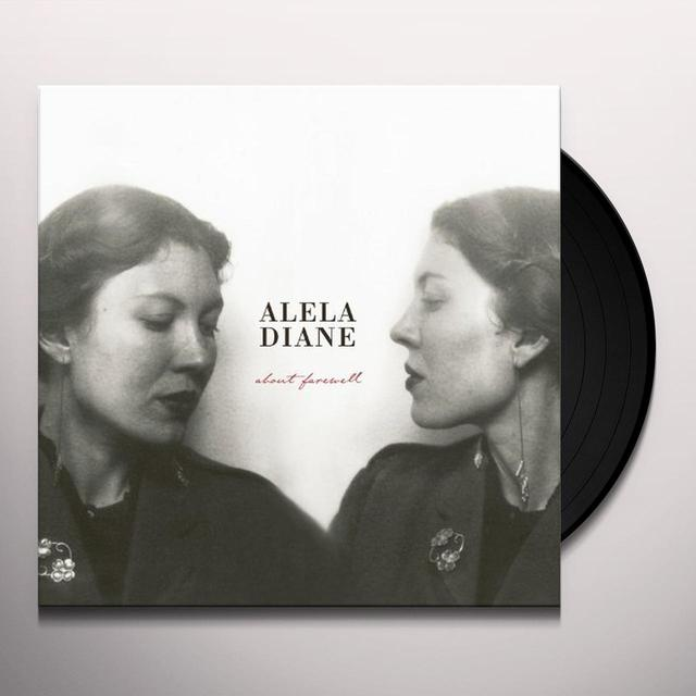 Alela Diane ABOUT FAREWELL Vinyl Record - Limited Edition