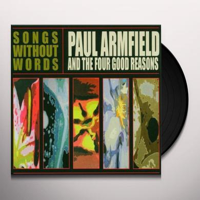 Paul Armfield SONGS WITHOUT WORDS Vinyl Record