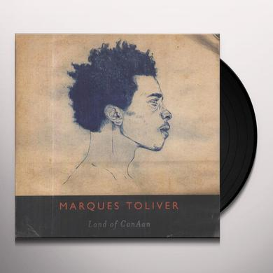 Marques Toliver LAND OF CANAAN (BONUS CD) Vinyl Record