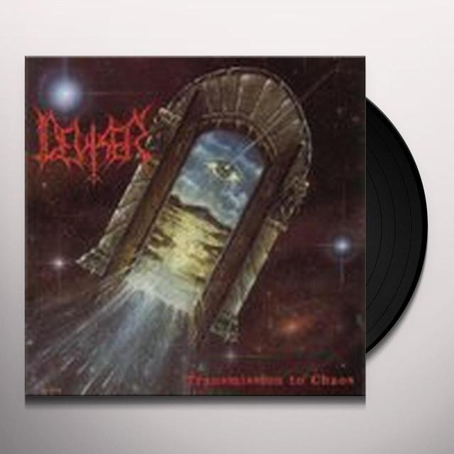 Deviser TRANSMISSION TO CHAOS (BONUS TRACK) Vinyl Record