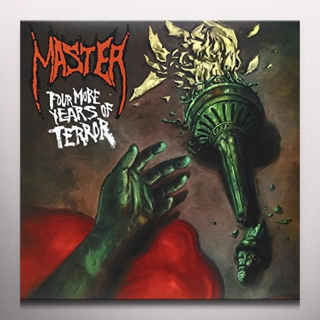 Master FOUR MORE YEARS OF TERROR Vinyl Record - Colored Vinyl, Reissue