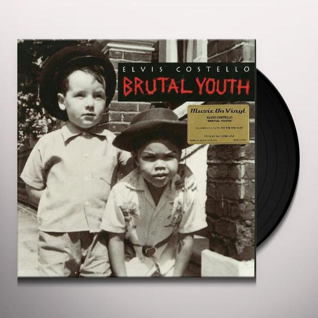 Elvis Costello BRUTAL YOUTH Vinyl Record