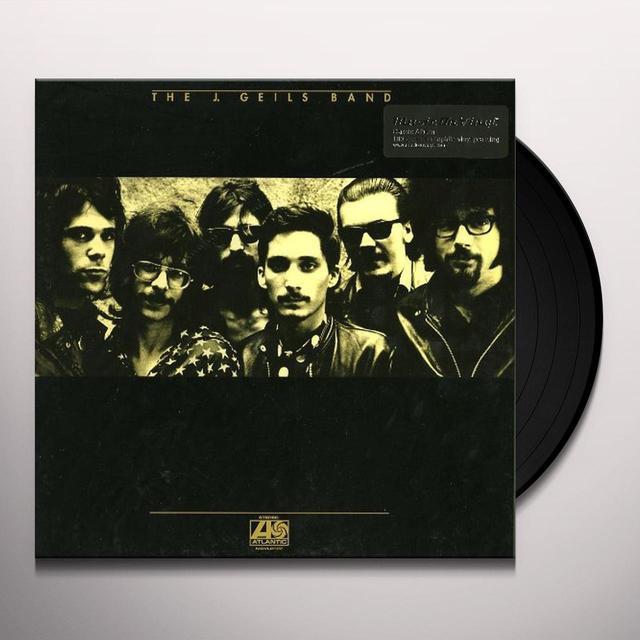 J Band Geils J. GEILS BAND Vinyl Record - Holland Release