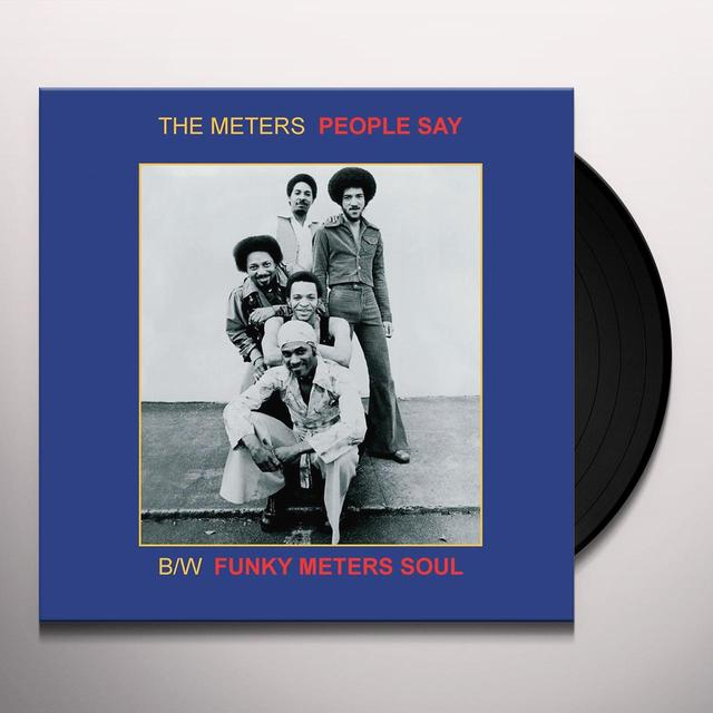 Meters 7 PEOPLE SAY Vinyl Record - Limited Edition