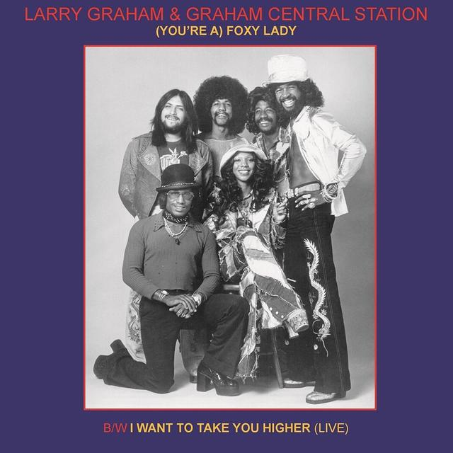 Larry Graham & Graham YOU'RE A FOXY LADY Vinyl Record - Limited Edition