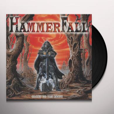Hammerfall GLORY TO THE BRAVE Vinyl Record