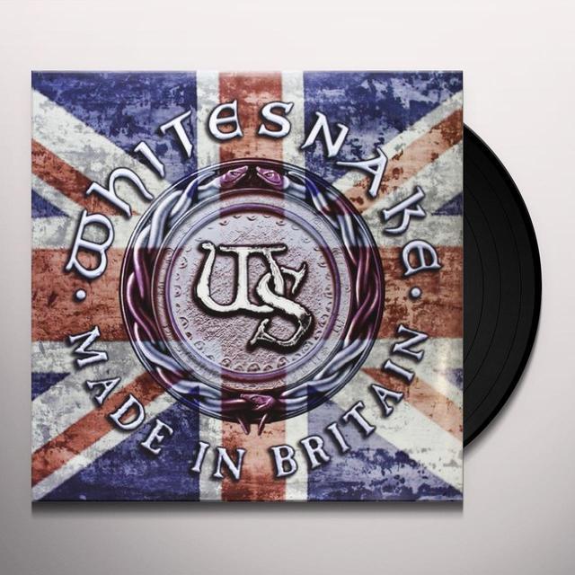Whitesnake MADE IN BRITAIN Vinyl Record - 180 Gram Pressing