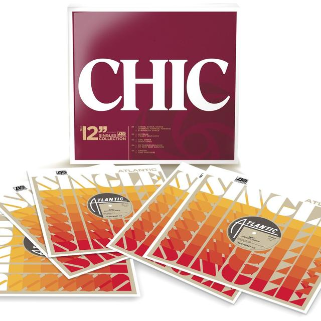 Chic 12 SINGLES COLLECTION (BOX) Vinyl Record
