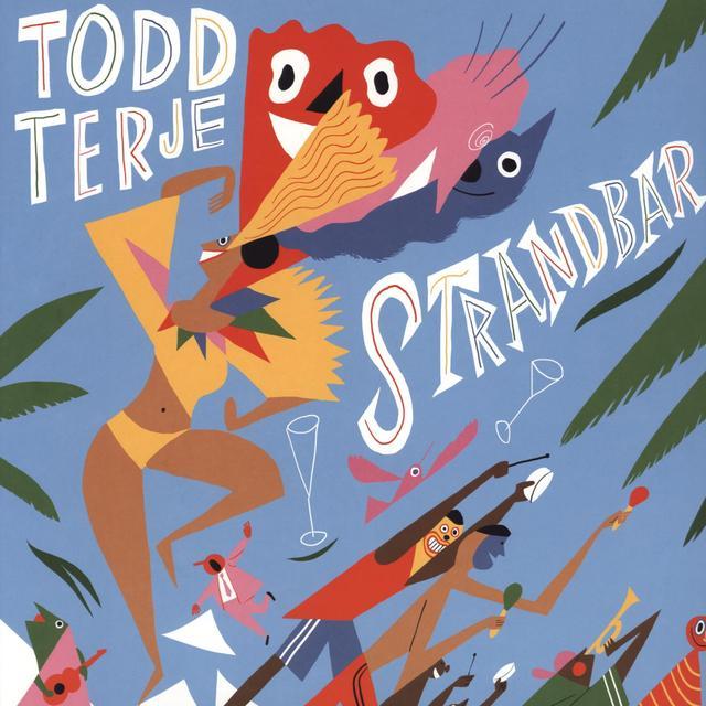 Todd Terje STRANDBAR Vinyl Record