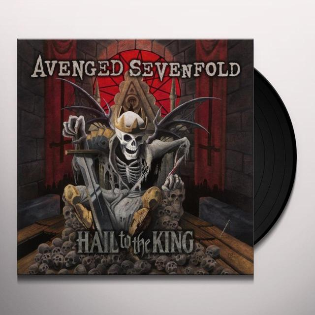 Avenged Sevenfold HAIL TO THE KING Vinyl Record - Digital Download Included