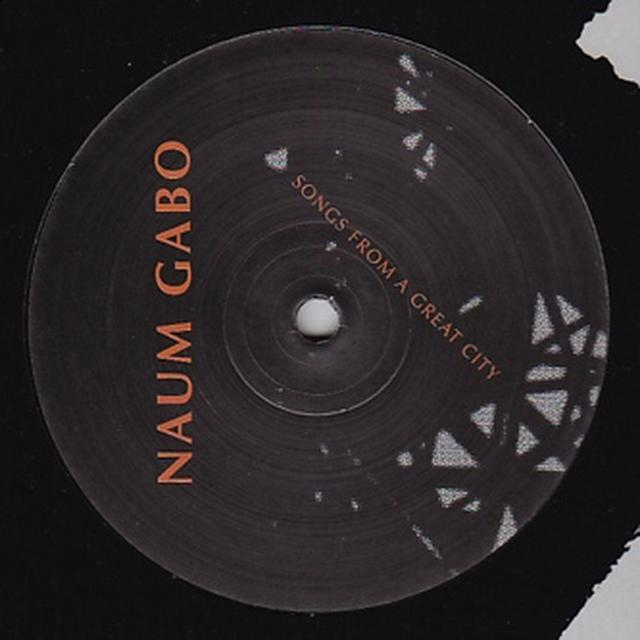 Naum Gabo SONGS FROM A GREAT CITY Vinyl Record