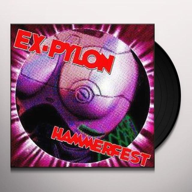 Ex-Pylon HAMMERFEST Vinyl Record