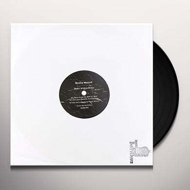 Wesley Matsell ZONE WITHIN ZONES Vinyl Record