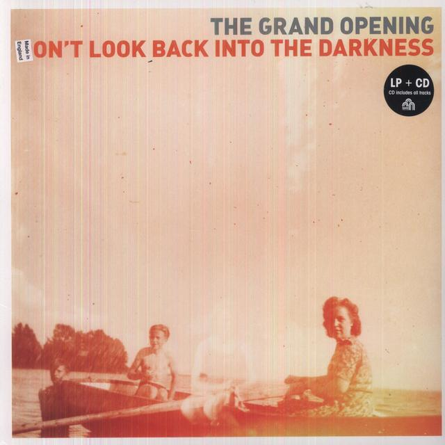 Grand Opening DONT LOOK BACK INTO THE DARKNESS Vinyl Record - w/CD