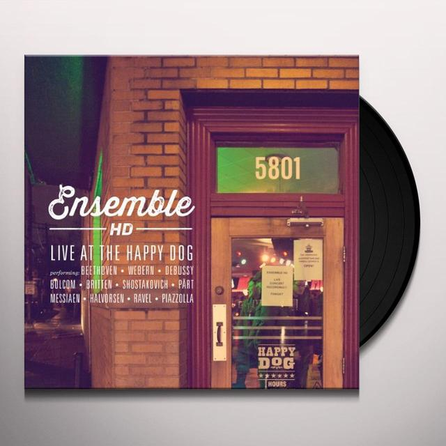 Ensemble Hd LIVE AT THE HAPPY DOG Vinyl Record