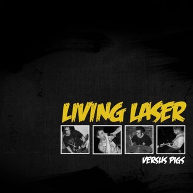 Living Laser VERSUS PIGS Vinyl Record - Digital Download Included
