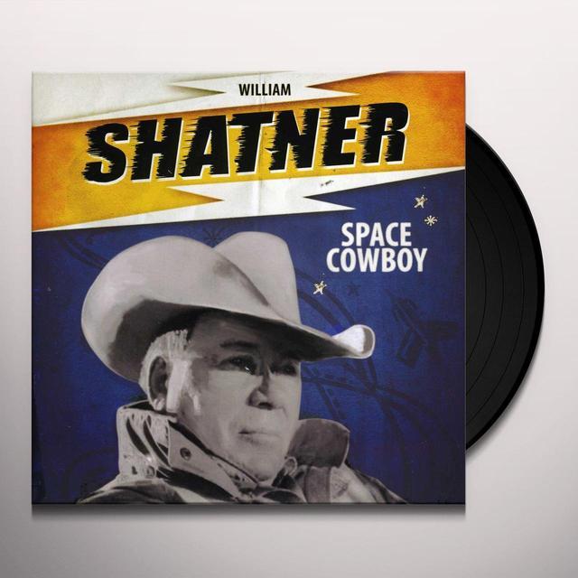 William Shatner SPACE COWBOY Vinyl Record