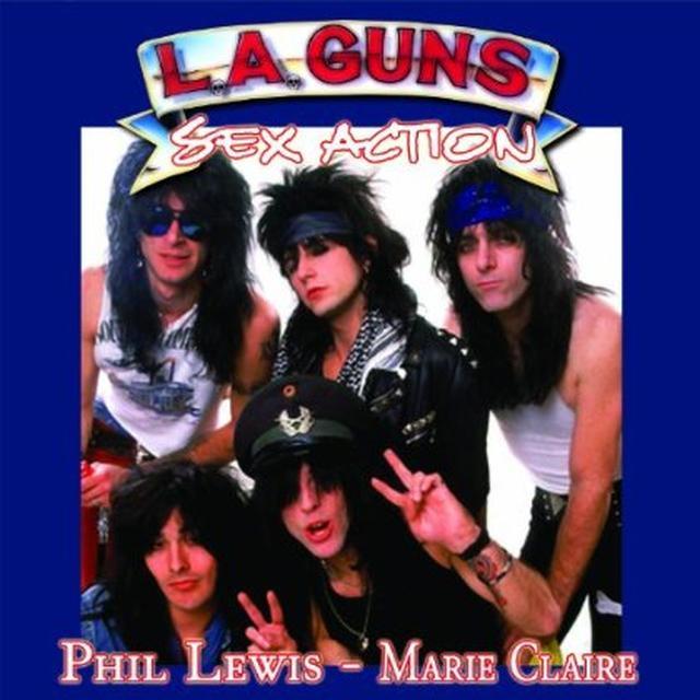 Phil L.A. Guns / Lewis SEX ACTION / MARIE CLAIRE Vinyl Record