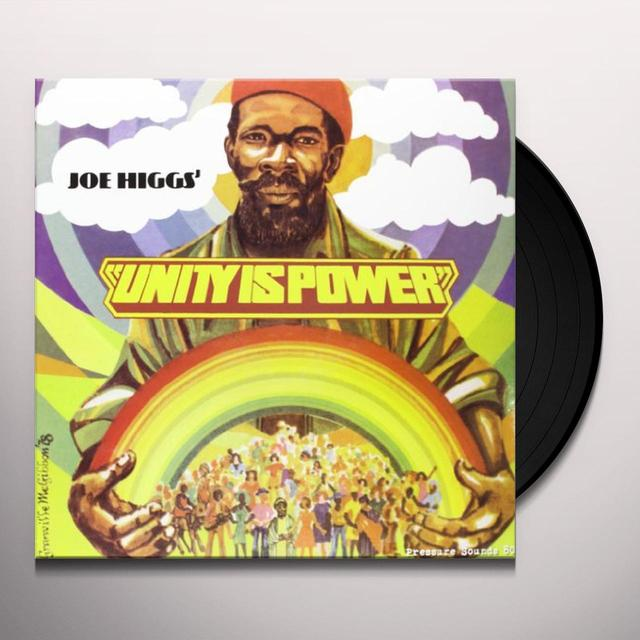 Joe Higgs UNITY IS POWER Vinyl Record