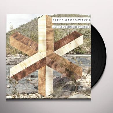Sleepmakeswaves & SO WE DESTROYED EVERYTHING Vinyl Record - w/CD, 180 Gram Pressing, Digital Download Included