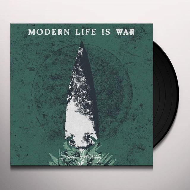 Modern Life Is War FEVER HUNTING Vinyl Record
