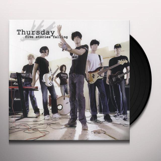 Thursday FIVE STORIES FALLING Vinyl Record