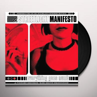 Streetlight Manifesto EVERYTHING GOES NUMB Vinyl Record