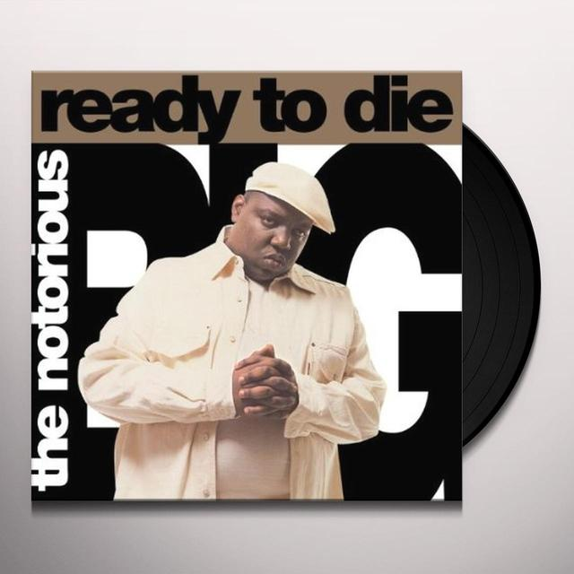 Notorious BIG READY TO DIE Vinyl Record