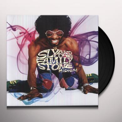 Sly & The Family Stone HIGHER  (BOX) Vinyl Record - 180 Gram Pressing