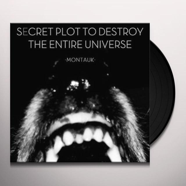 Secret Plot To Destroy The Entire Universe MONTAUK (EP) Vinyl Record
