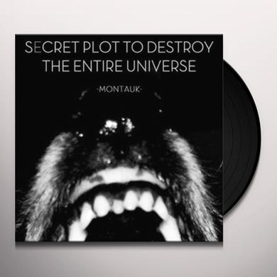 Secret Plot To Destroy The Entire Universe MONTAUK Vinyl Record