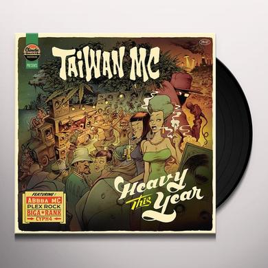 Taiwan Mc HEAVY THIS YEAR Vinyl Record