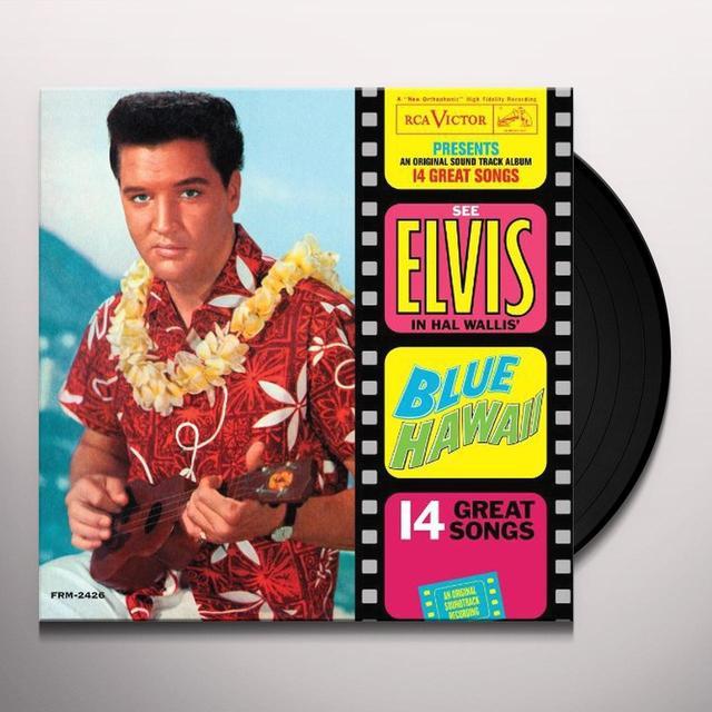 Elvis Presley BLUE HAWAII Vinyl Record - Limited Edition, 180 Gram Pressing