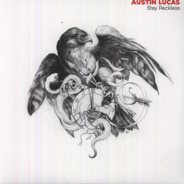 Austin Lucas STAY RECKLESS Vinyl Record - 180 Gram Pressing, Digital Download Included