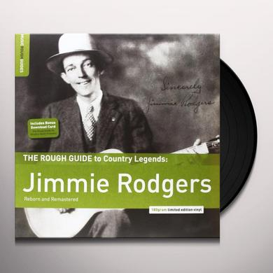 ROUGH GUIDE TO JIMMIE RODGERS Vinyl Record - 180 Gram Pressing, Digital Download Included