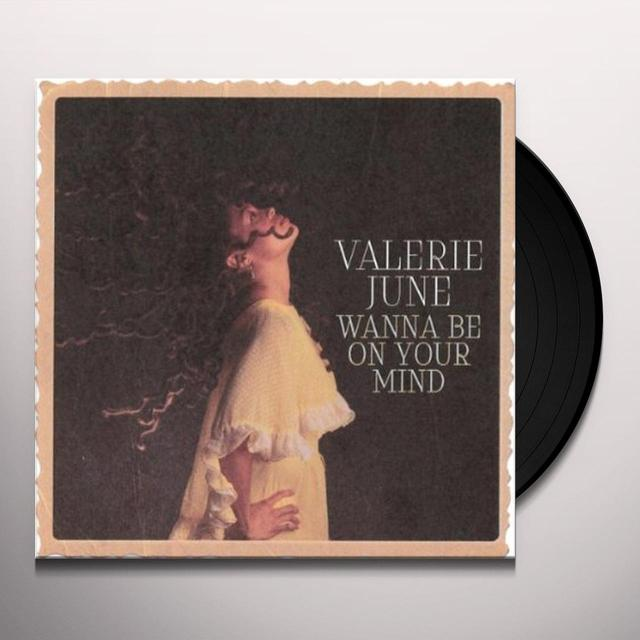 Valerie June WANNA BE ON YOUR MIND Vinyl Record - UK Release