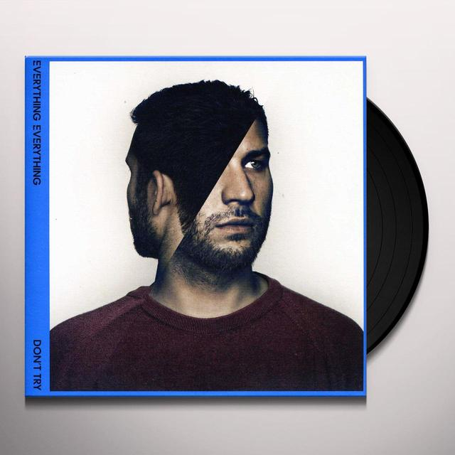 Everything Everything DON'T TRY Vinyl Record