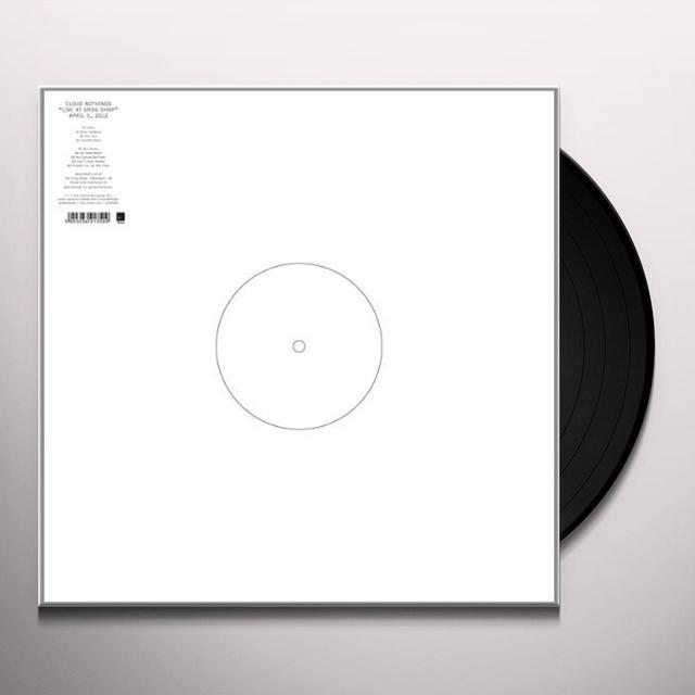 Cloud Nothings LIVE AT GROG SHOP Vinyl Record