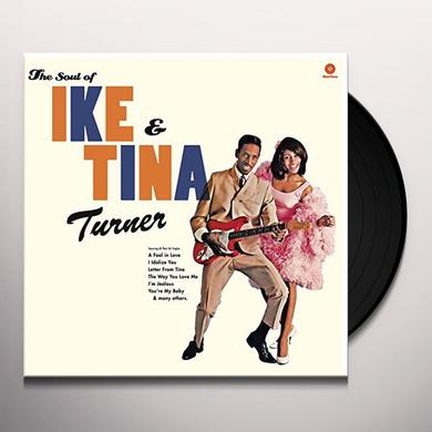SOUL OF IKE & TINA TURNER (BONUS TRACKS) Vinyl Record - 180 Gram Pressing