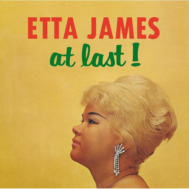 Etta James AT LAST (BONUS TRACKS) Vinyl Record - 180 Gram Pressing