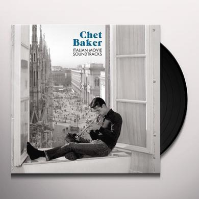 Chet Baker ITALIAN MOVIE SOUNDTRACKS Vinyl Record