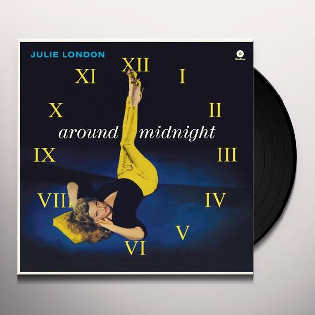 Julie London AROUND MIDNIGHT Vinyl Record
