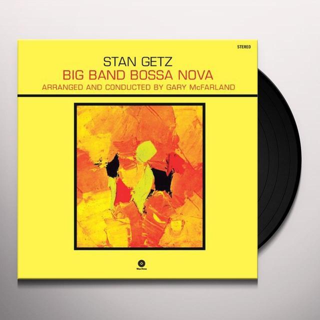 Stan Getz BIG BAND BOSSA NOVA (BONUS TRACK) Vinyl Record - 180 Gram Pressing