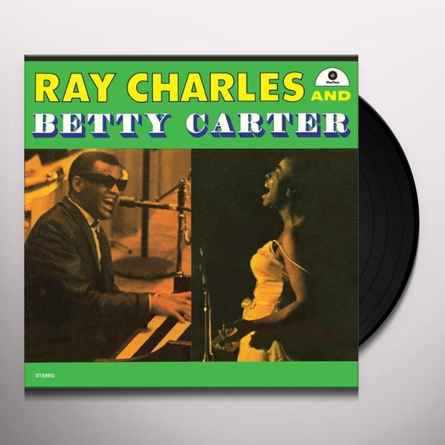 RAY CHARLES & BETTY CARTER (BONUS TRACK) Vinyl Record - 180 Gram Pressing
