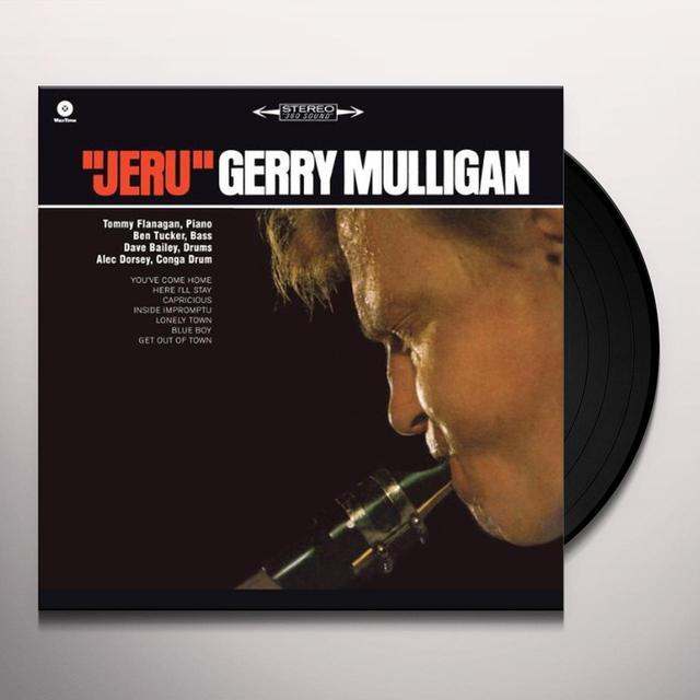Gerry Mulligan JERU (BONUS TRACK) Vinyl Record - 180 Gram Pressing