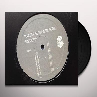 Francesco Belfiore / San Proper FAULKNER (EP) Vinyl Record