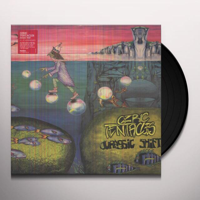 Ozric Tentacles JURASSIC SHIFT Vinyl Record