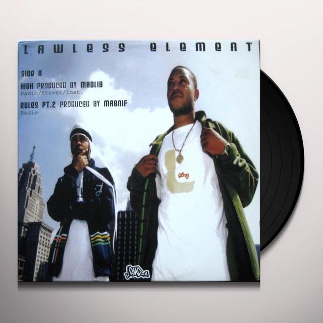 Lawless Element HIGH (Vinyl)